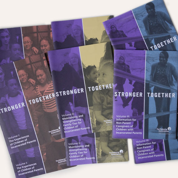Osborne Association Stronger Together handbooks